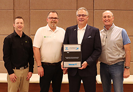 Valley® Irrigation Honors Western Sales as a Performance Plus Dealer