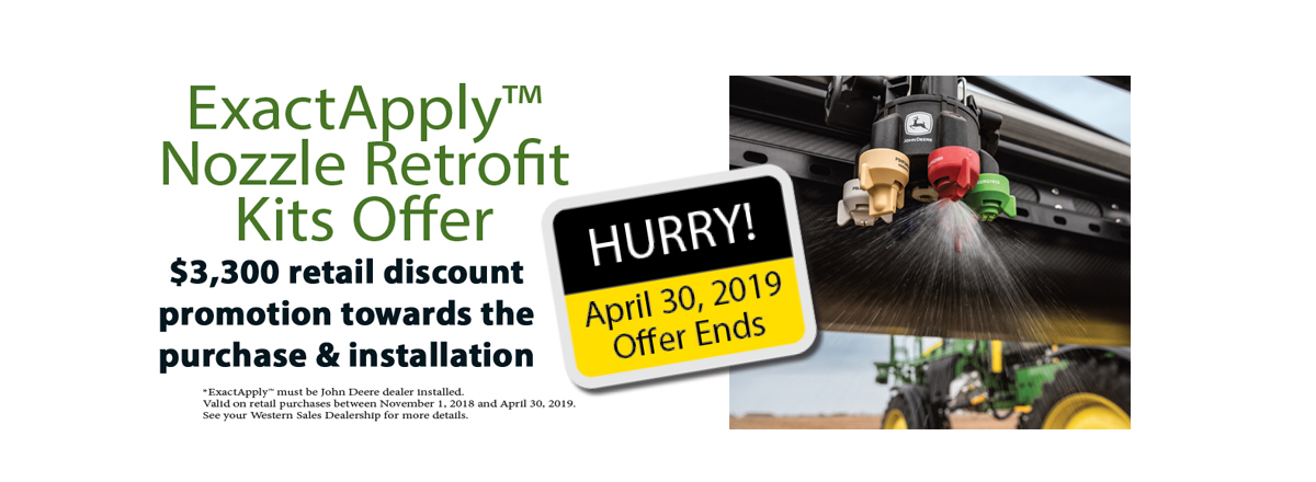 ExactApply™ Nozzle Retrofit Kit Offer