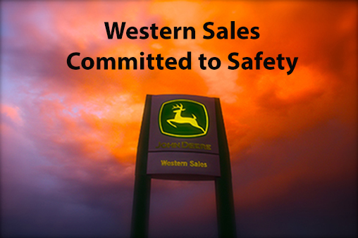 Western Sales Committed to Safety
