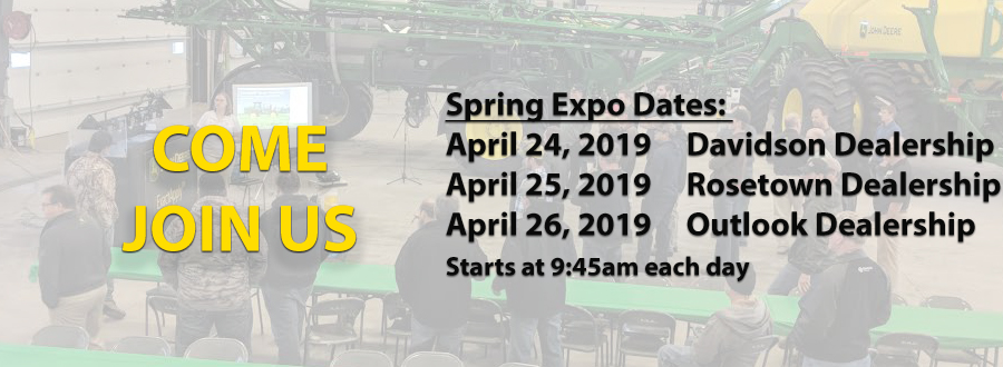 Spring Expo Invitation