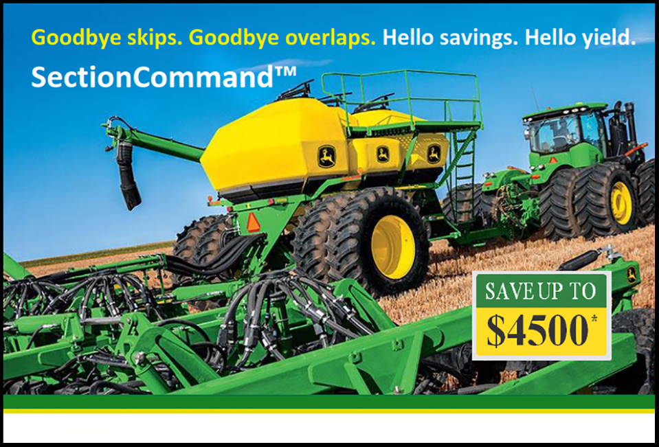 Up to $4500 OFF Section Command