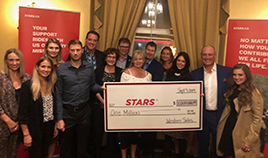 President of Western Sales, Grant McGrath Donates $1,000,000 to STARS