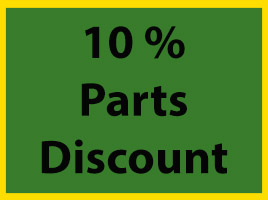 10 % Parts Discount on Inspections