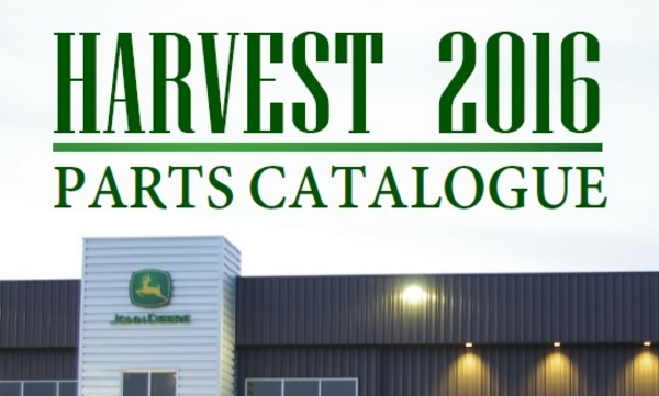 Harvest 2016 Catalogue